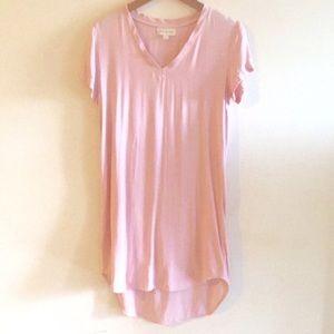 Pink Cloth & Stone Anthro Dress